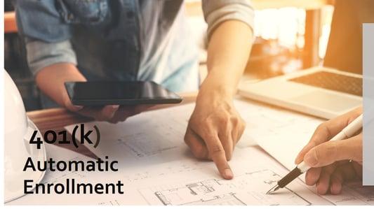 401(k) automatic enrollment