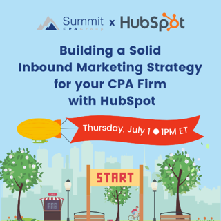 Building a Solid Inbound Marketing Strategy for your CPA Firm with HubSpot