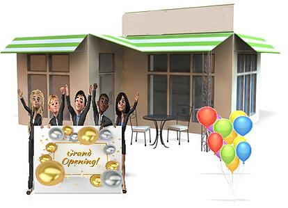 Business grand opening