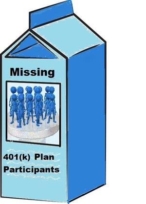 Missing Plan Participants