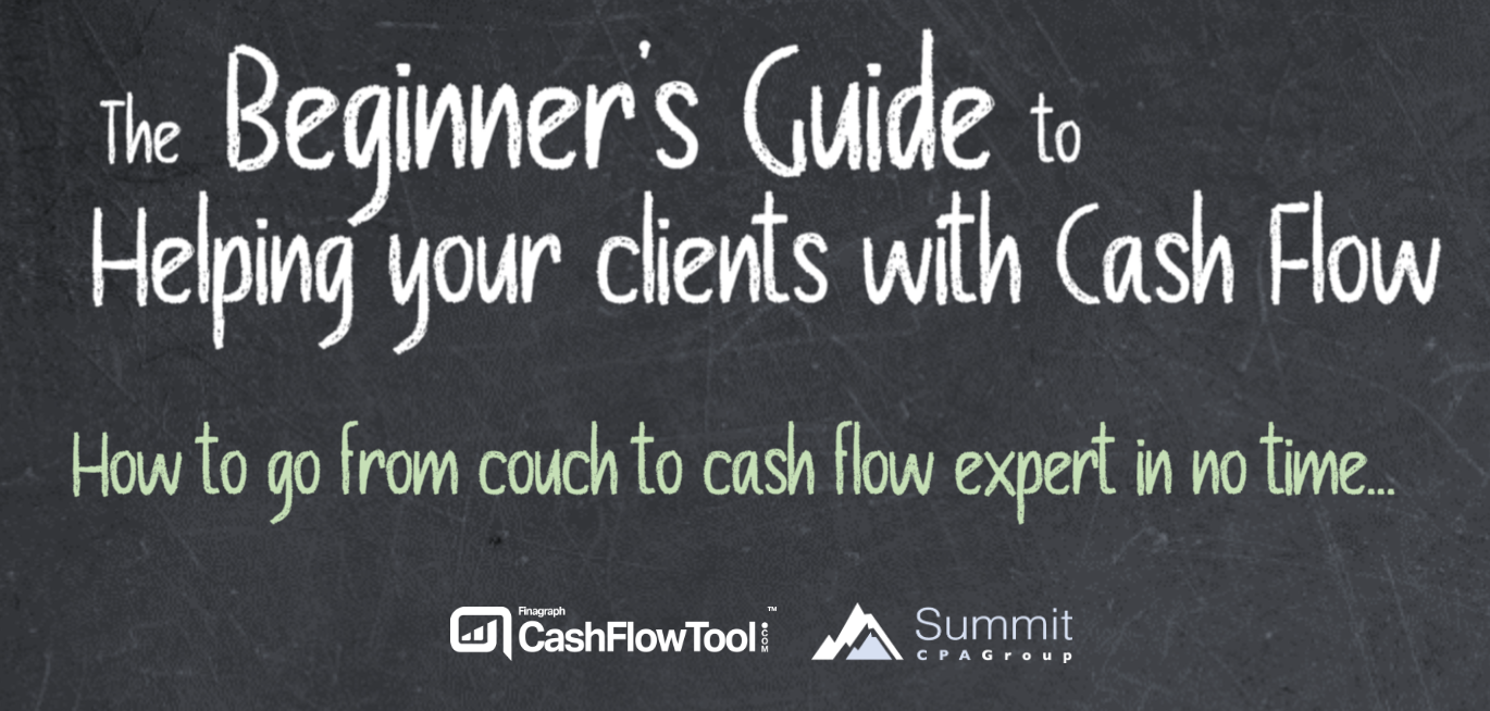 The Beginner's Guide to Helping your clients with Cash Flow