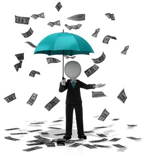 business cash flow_figure_money_falling_13444