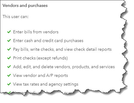 Your Vendors and Purchases