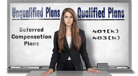 Qualified or unqualified Plans