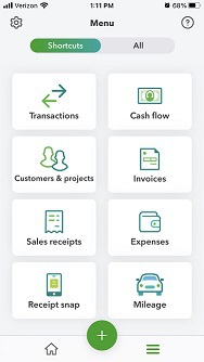 QuickBooks Mobile App Basics