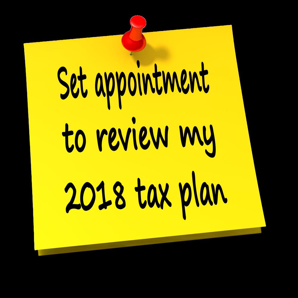 2018 tax plan custom_thumbtack_note_13032