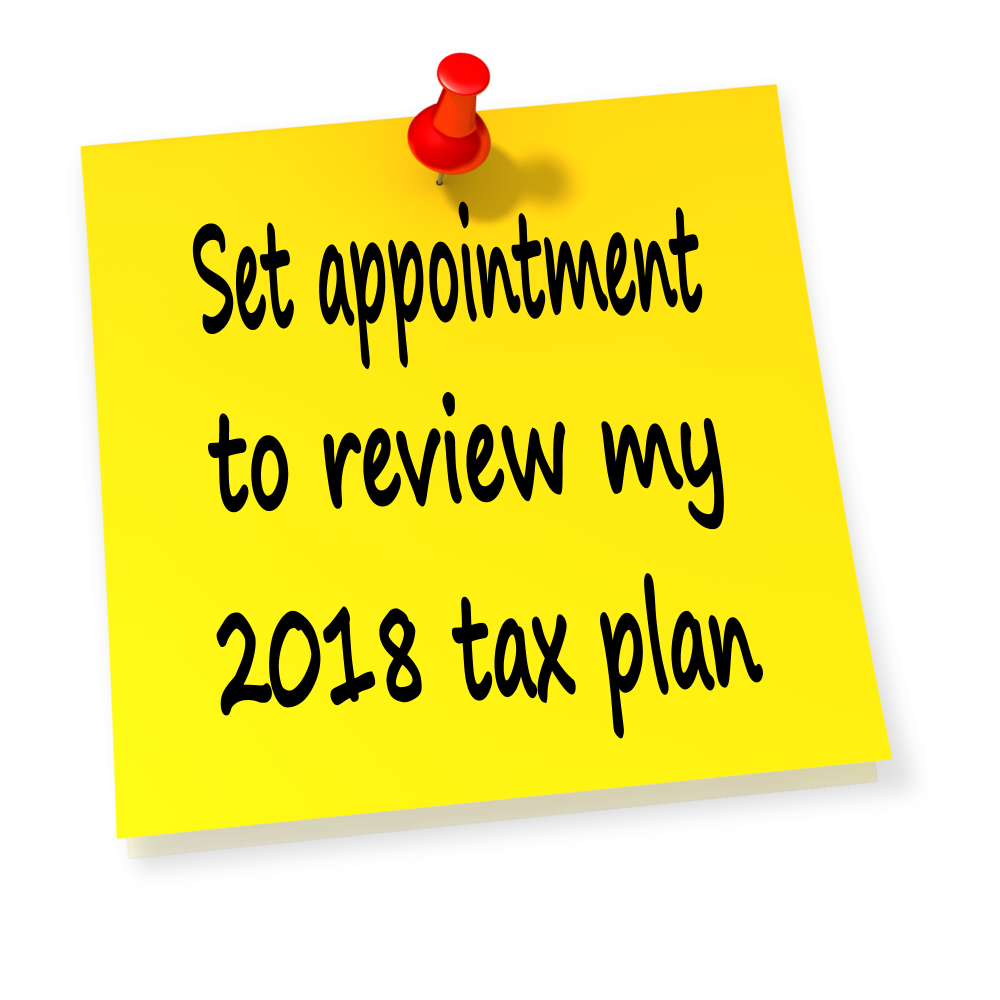 It's Time for Your 2018 Mid-Year Tax Planning