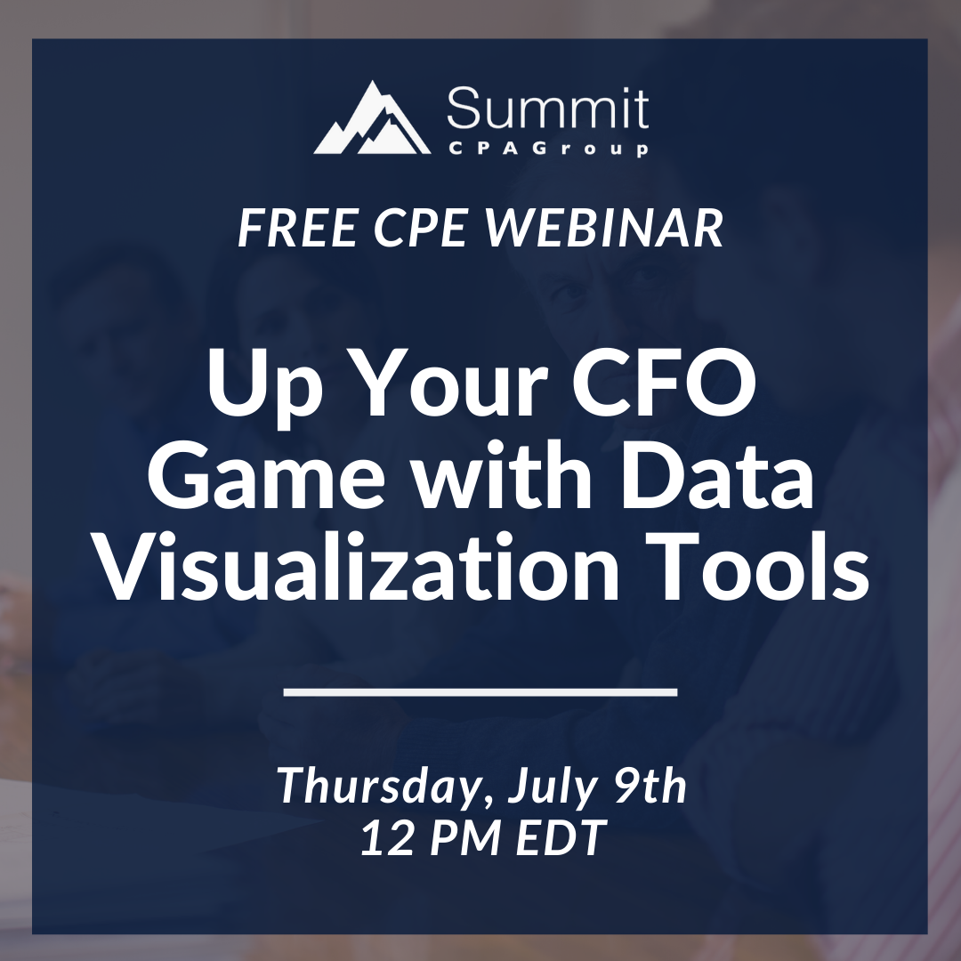 Up Your CFO Game with Data Visualization Tools
