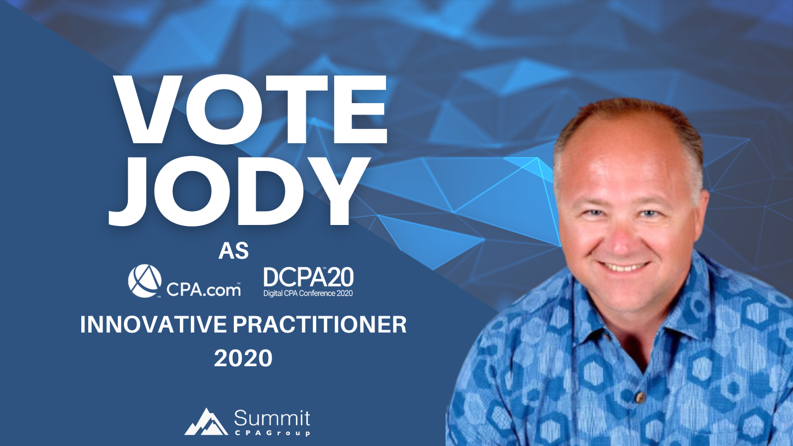 Jody Grunden: DCPA20 Innovative Practitioner Award Nominee