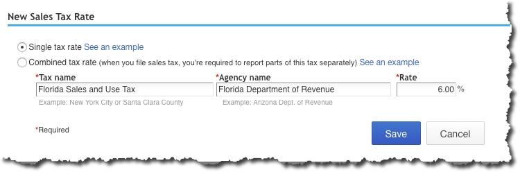 Sales Tax Set-Up in QuickBooks Online