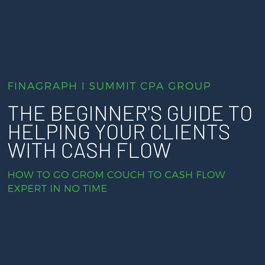 The Beginners Guide to Helping your clients with Cash Flow