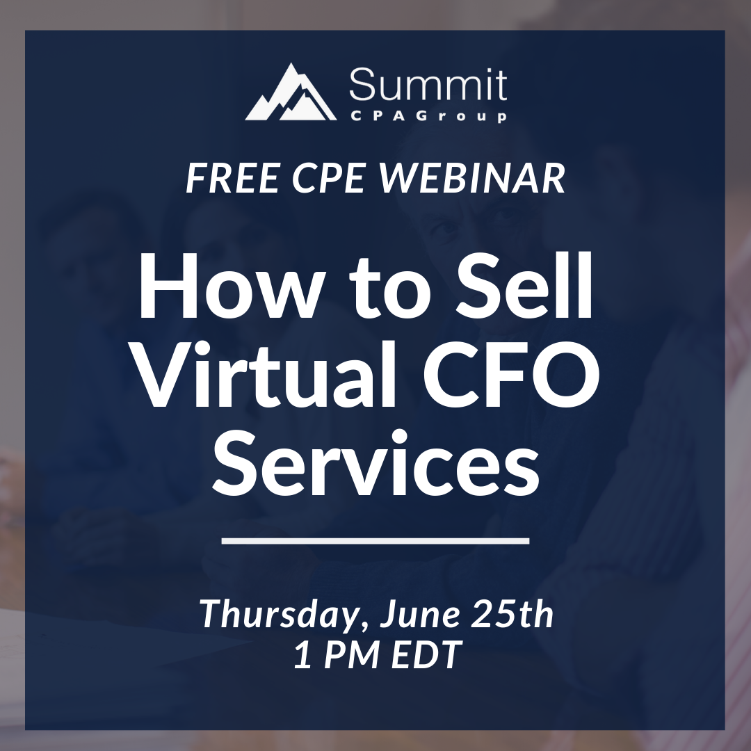 How to Sell Virtual CFO Services