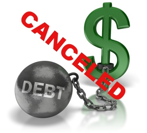The Tax Effect on Debt Cancellation
