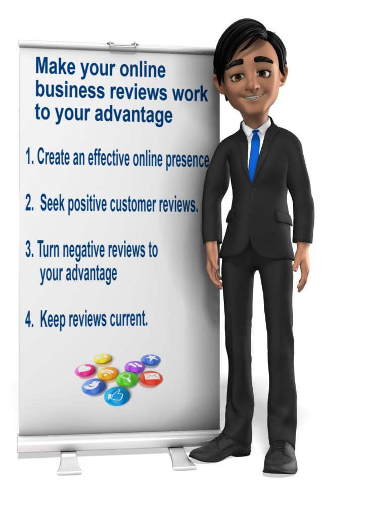 Make Online Business Reviews Work in Your Favor
