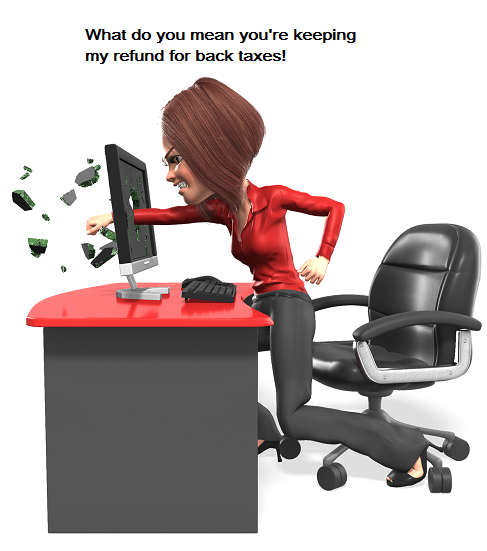 business_woman_punch_screen_animated no refund