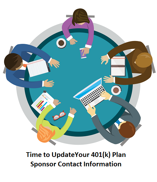 Review and Update Your 401(k) Plan Sponsor Contact Information