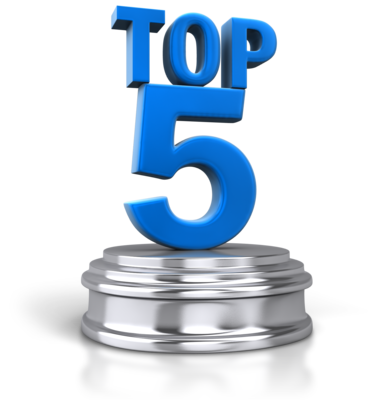 Our Top 5 Blog Posts for September 2018