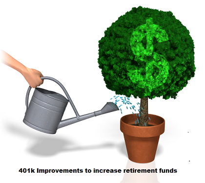 What Can I Do To Help Improve My 401(k) Plan?